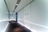 GW(44-S)单面附墙式玻璃成品隔断系统